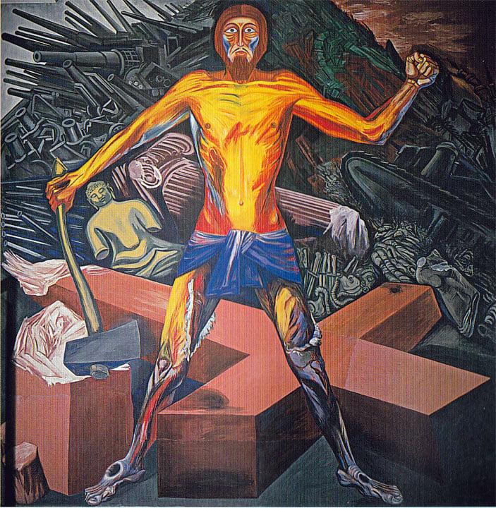 Jose Clemente Orozco mural