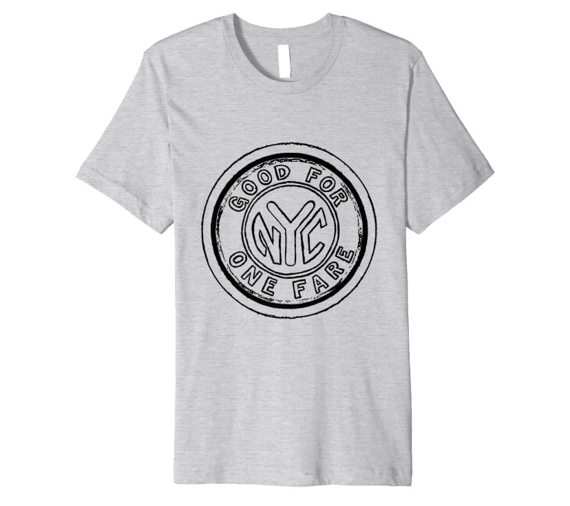 Men's Zepeda NYC Subway Token Painting T-Shirt