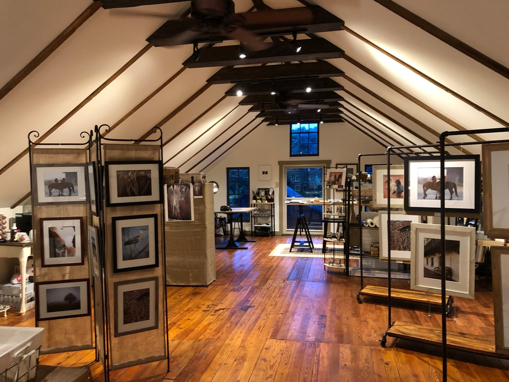 Pam Phillips Photography Studio and Gallery interior
