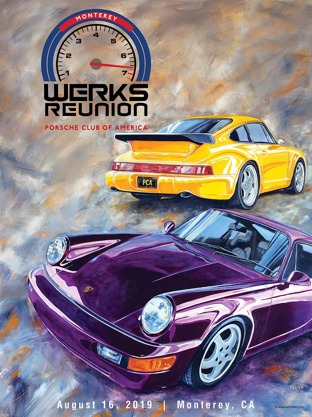 Werks Reunion Poster by Kelly Telfer
