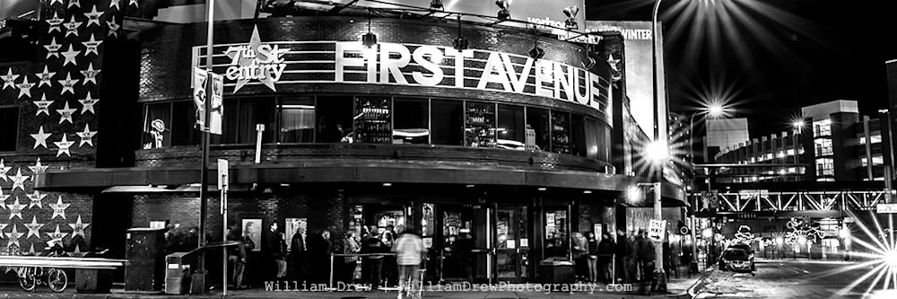 First Avenue 5 - First Avenue Pictures   William Drew Photography