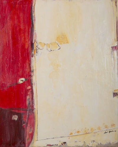 Amal Hassani abstract expressionism painting