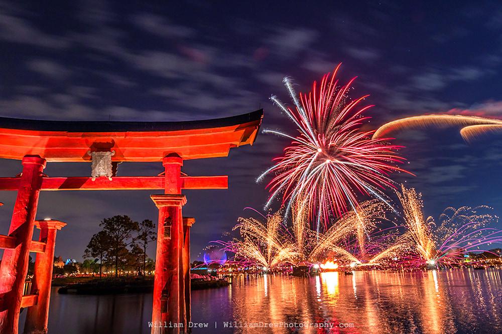 Torii Gates Illuminations - Epcot Pictures | William Drew Photography