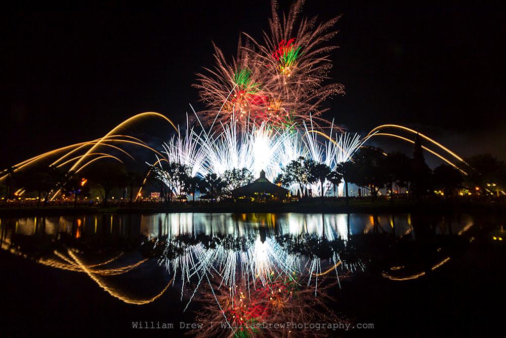 Illuminations Epcot 3 - Disney Art | William Drew Photography