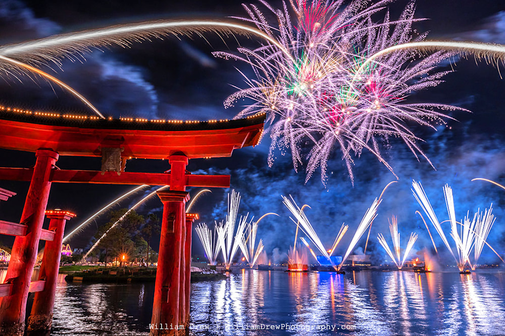 Japan Reflections of Earth - Epcot Pictures | William Drew Photography