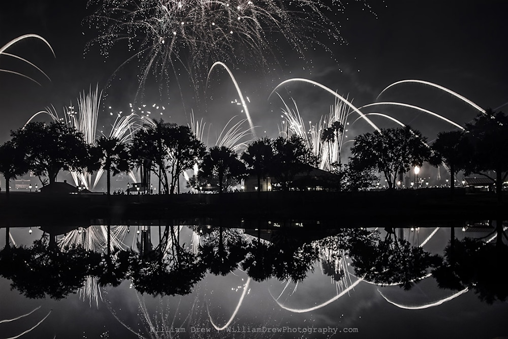Reflections of Illuminations - Disney Wall Art | William Drew Photography