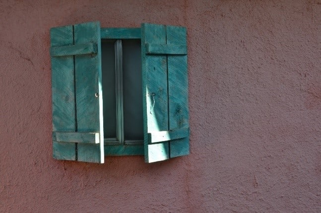 Rustic southwest window