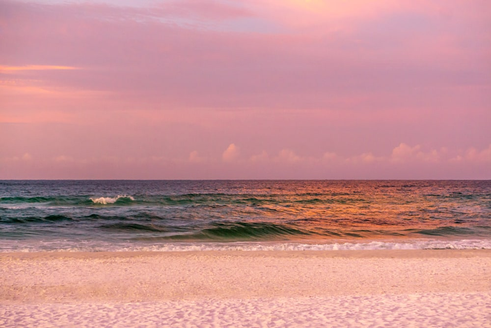 One of Destin's colorful sunrises