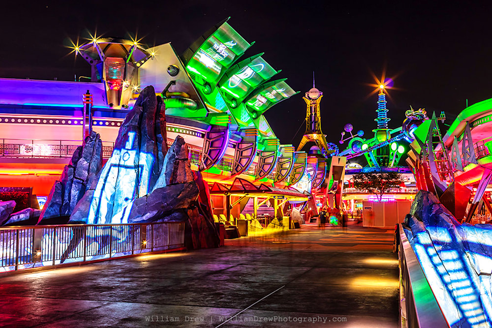 Haunted Tomorrowland - Disney Halloween Photos | William Drew Photography