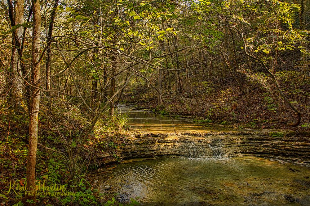 Devils Eyebrow Trail Creek