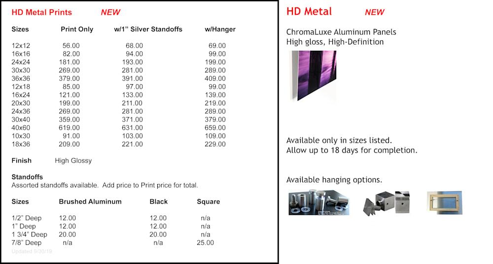 HD Metal Pricing