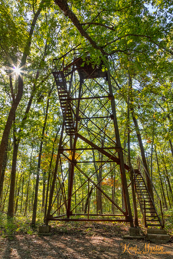 Roaring River Fire Tower