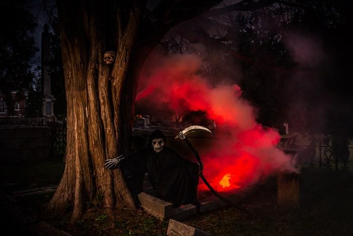 The grim reaper in Sparta, GA