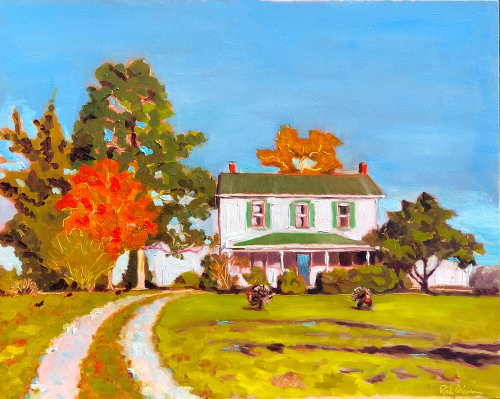 Country House Painting in Rural Virginia