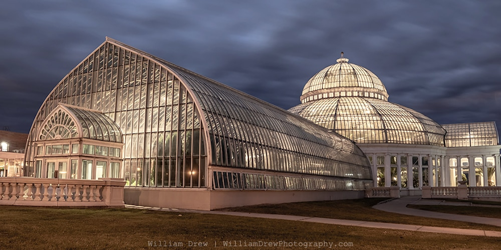 Conservatory Garden - Como Zoo Conservatory Photographs | William Drew Photography