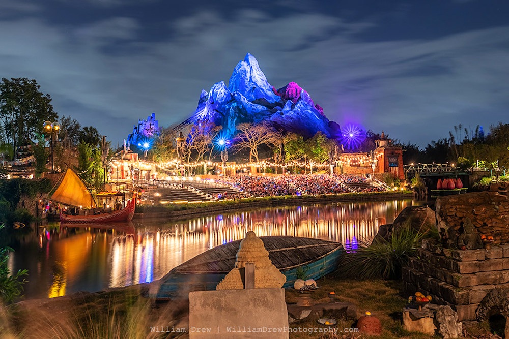 Expedition Everest Reflections Photography by William Drew Photography