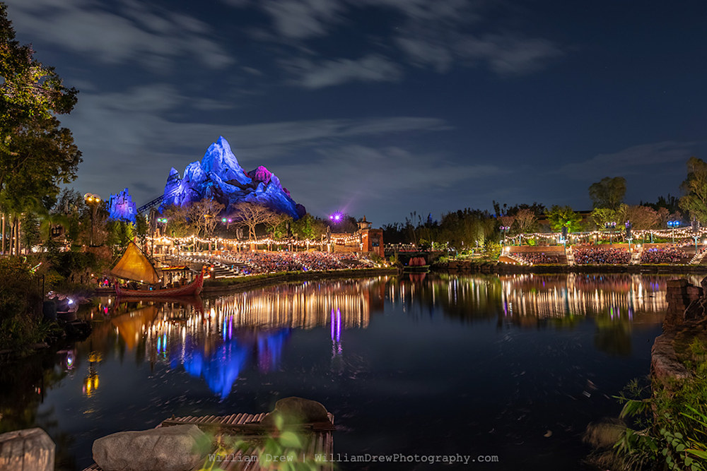 Reflections of Expedition Everest Photograph as Fine Art