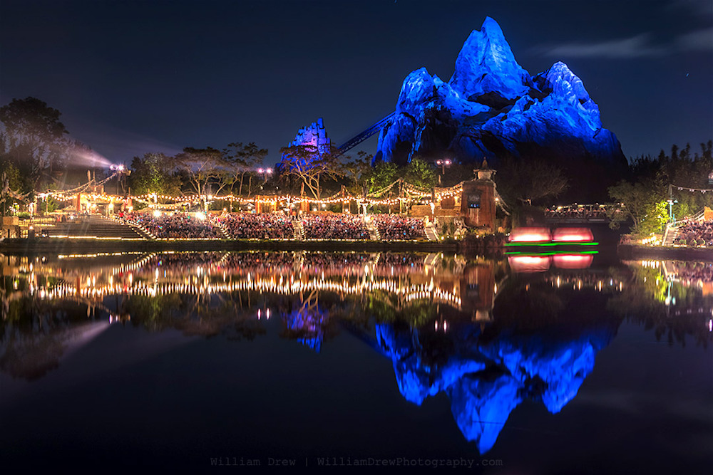 Blue Expedition Everest Reflection Photograph by William Drew Photography
