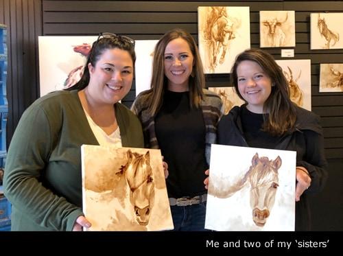 Lauren Daae - Coffee Painting Workshop