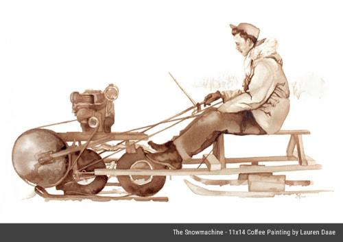 The Snowmachine - Raymond Daae - By Lauren Daae
