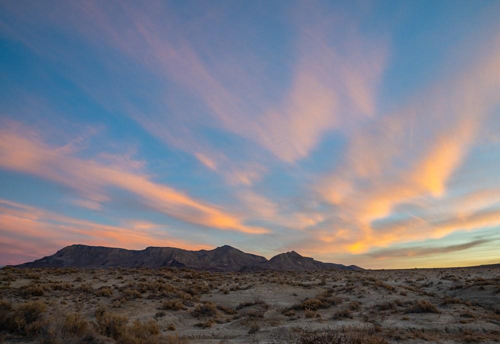 Surreal Black Rock Desert Sunrise