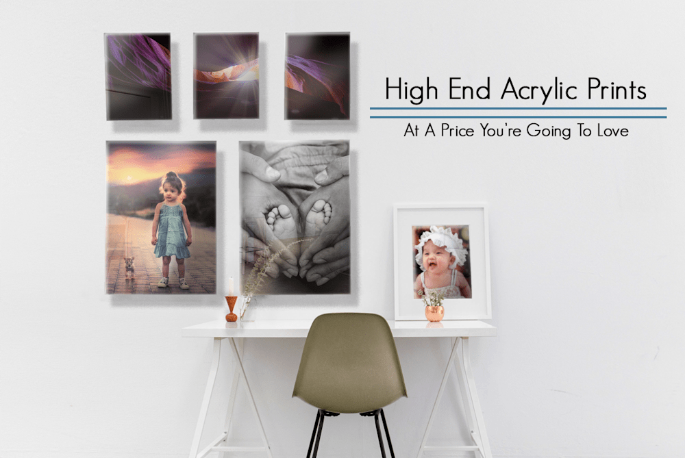 Scenic Room detailing the text of High End Acrylic Prints At A Price You Are Going To Love