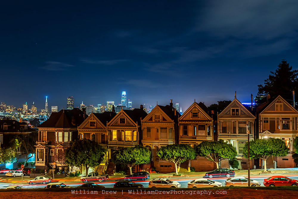 Painted Ladies in San Francisco Photograph