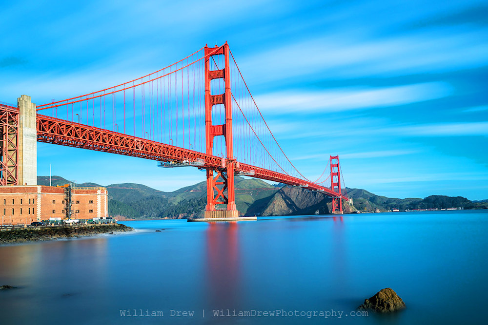 Golden Gate Bridge and Fort Point Photograph