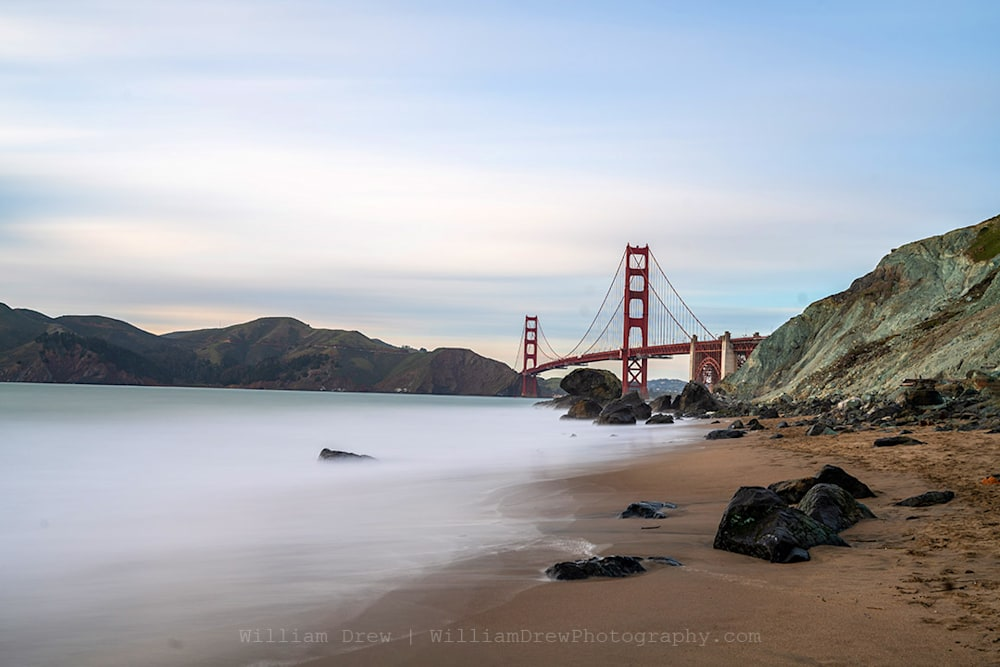 Golden Gate and Marshall's Beach Photograph