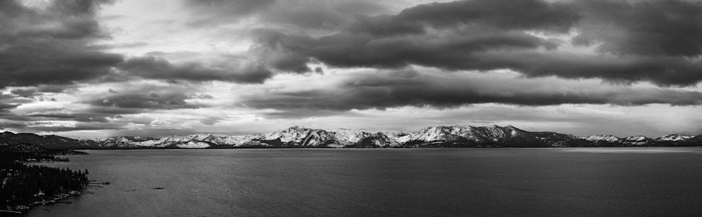 Colorless East Shore Panorama