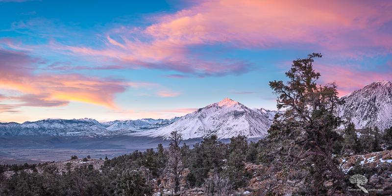 Mount Tom Sunrise Panorama