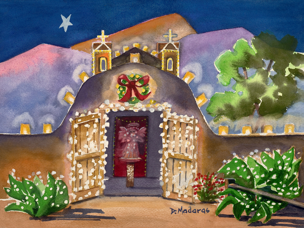 Christmas Church Shows Tucson 2020 2020 all artist show preview | Madaras Gallery