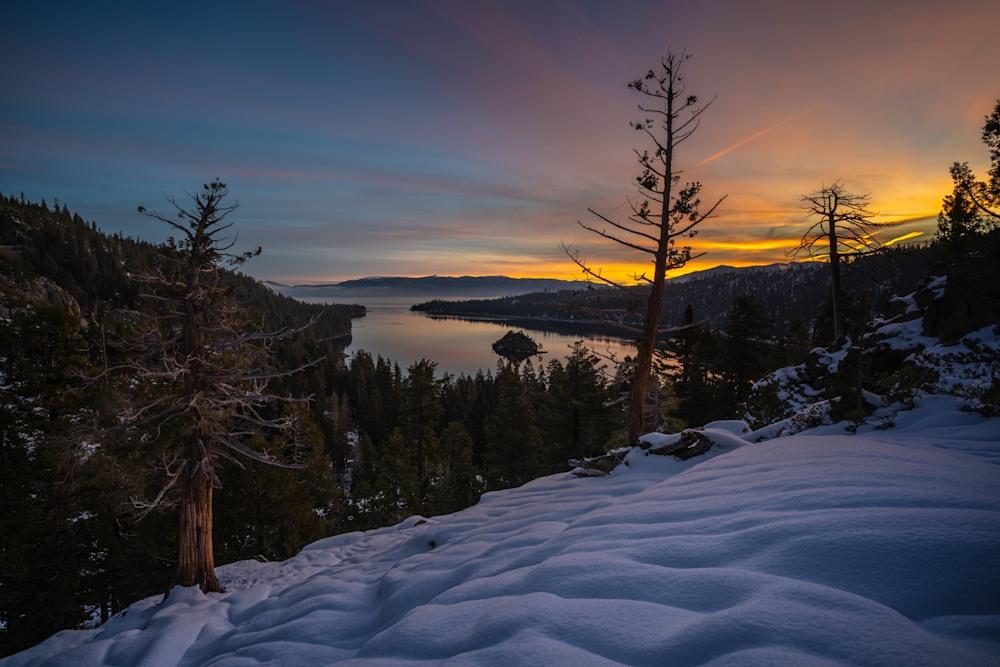 Emerald Bay Lake Tahoe Sunrise