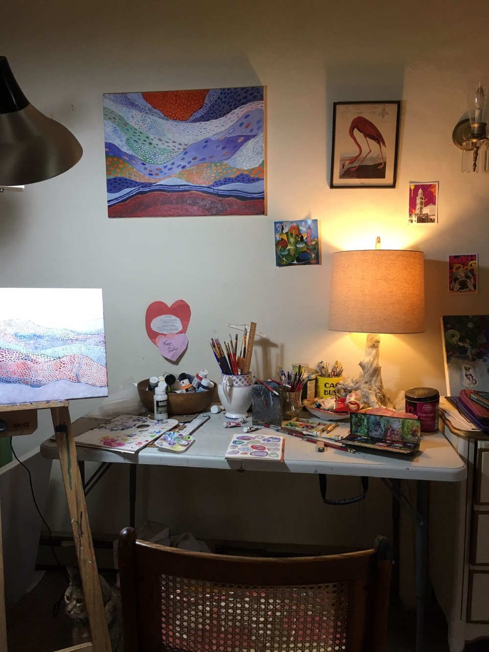 My mini studio.