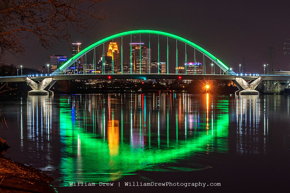 Minneapolis in Green for Earth Day 2020 - Images of Minneapolis | William Drew Photography