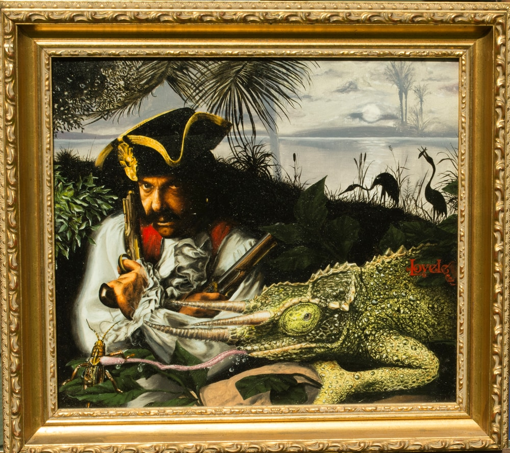 """This is an illustration called """"The Pirate."""""""