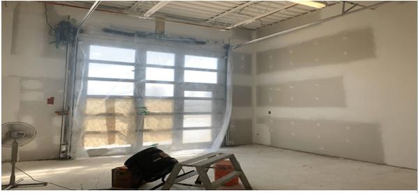 Shirley Williams studio renovation