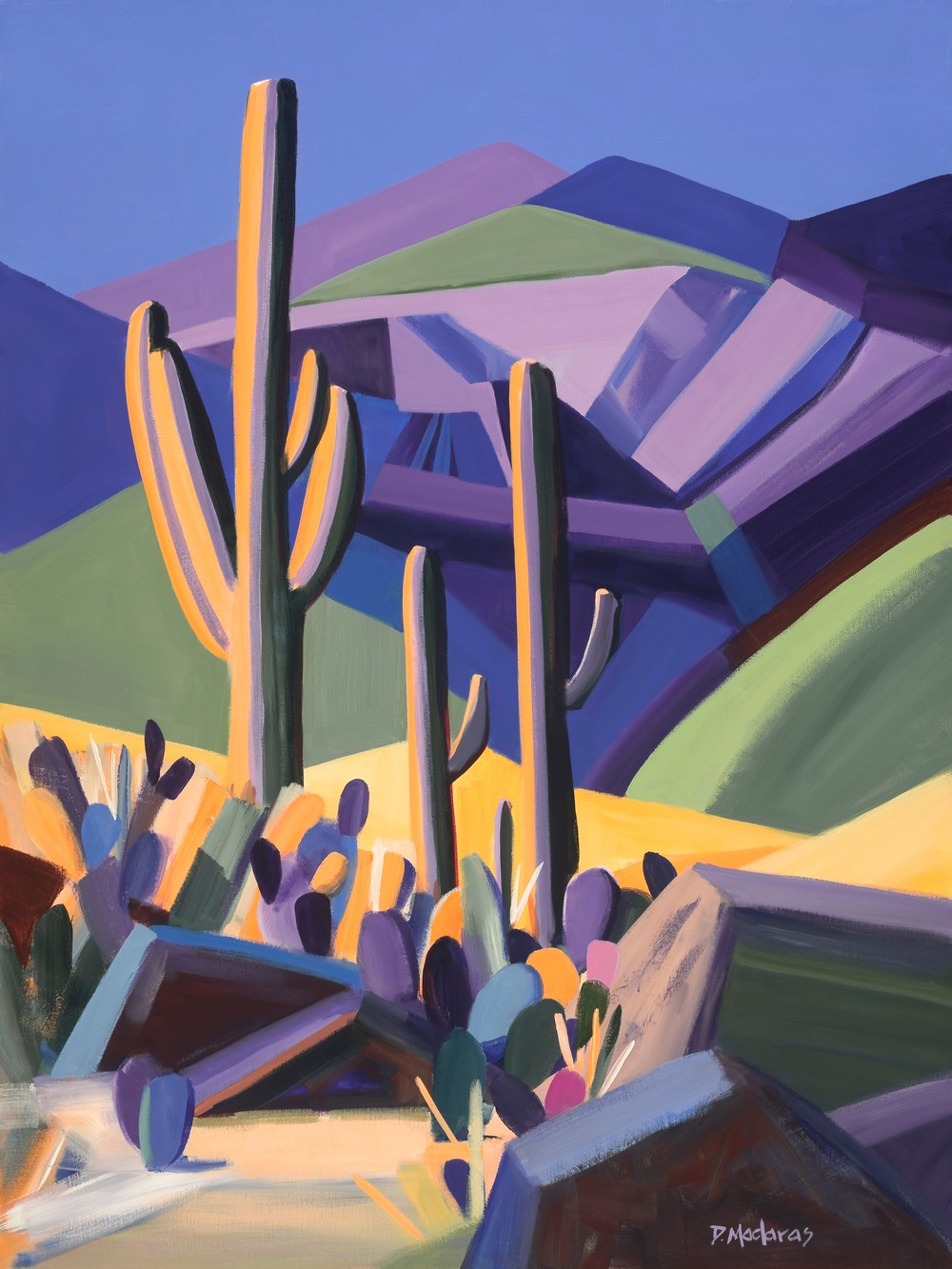 Rincon Inspiration by Diana Madaras Tucson Artist