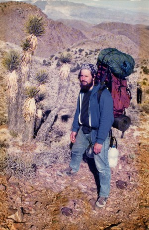 That's me on a Vision Quest in the Inyo Mountains, circa 1988