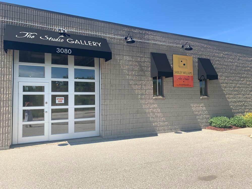 Exterior of the Studio Gallery
