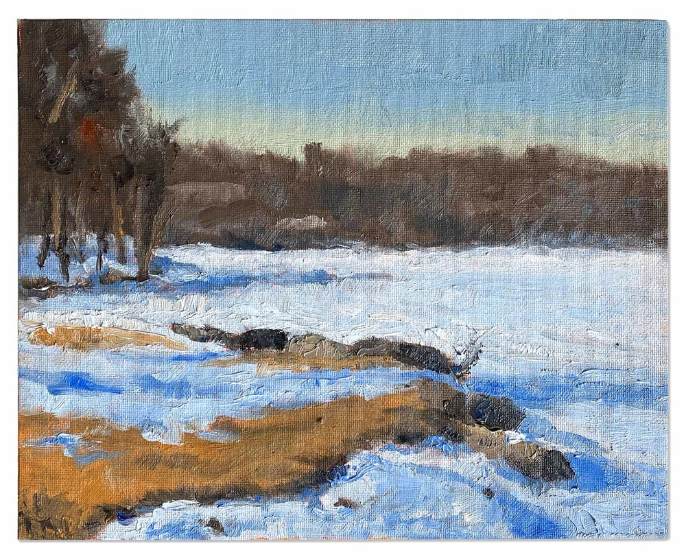 Winter at Medicine Lake