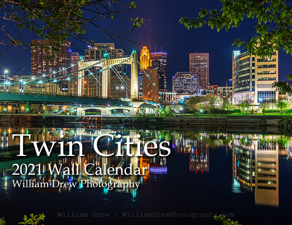 Twin Cities Wall Calendar | William Drew Photography