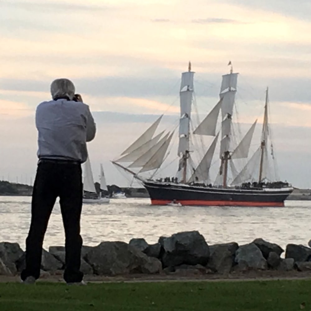 Mark Roger Bailey photographs the barque Star of India
