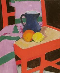 The Red Chair painting by Francis Cadell
