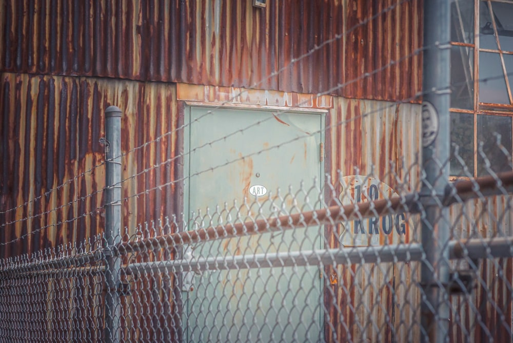 A door on Krog Street in Atlanta