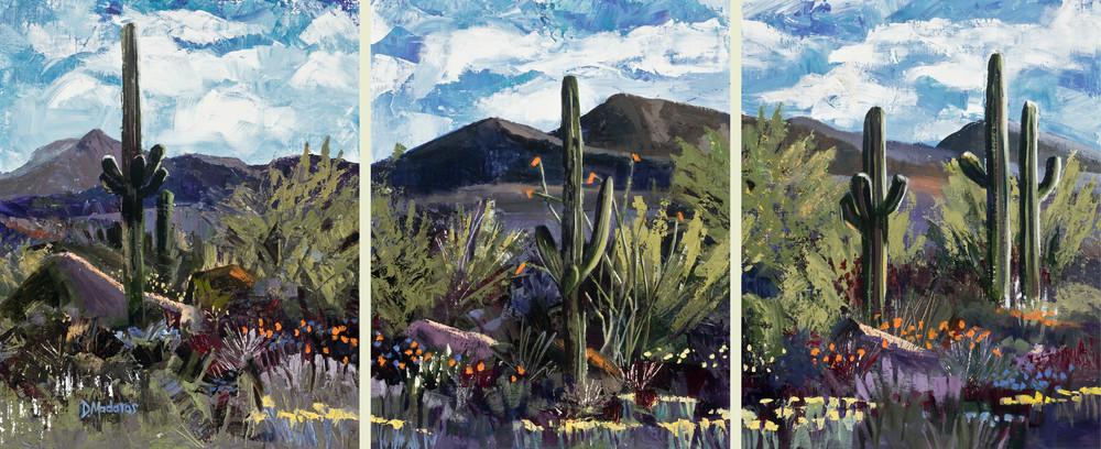 Heartland Triptych by Diana Madaras