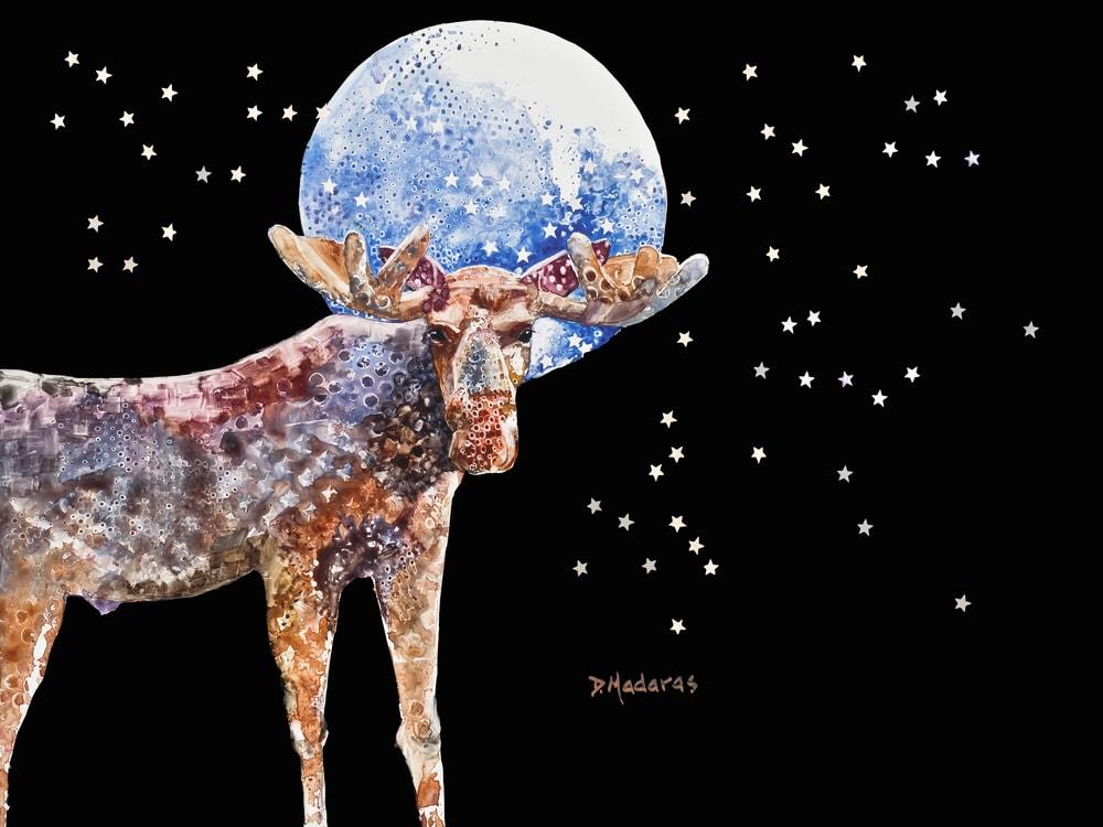 Bullwinkle by Diana Madaras