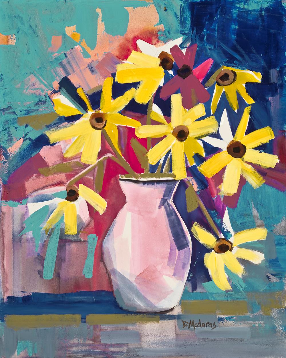 Joyful Flowers by Diana Madaras