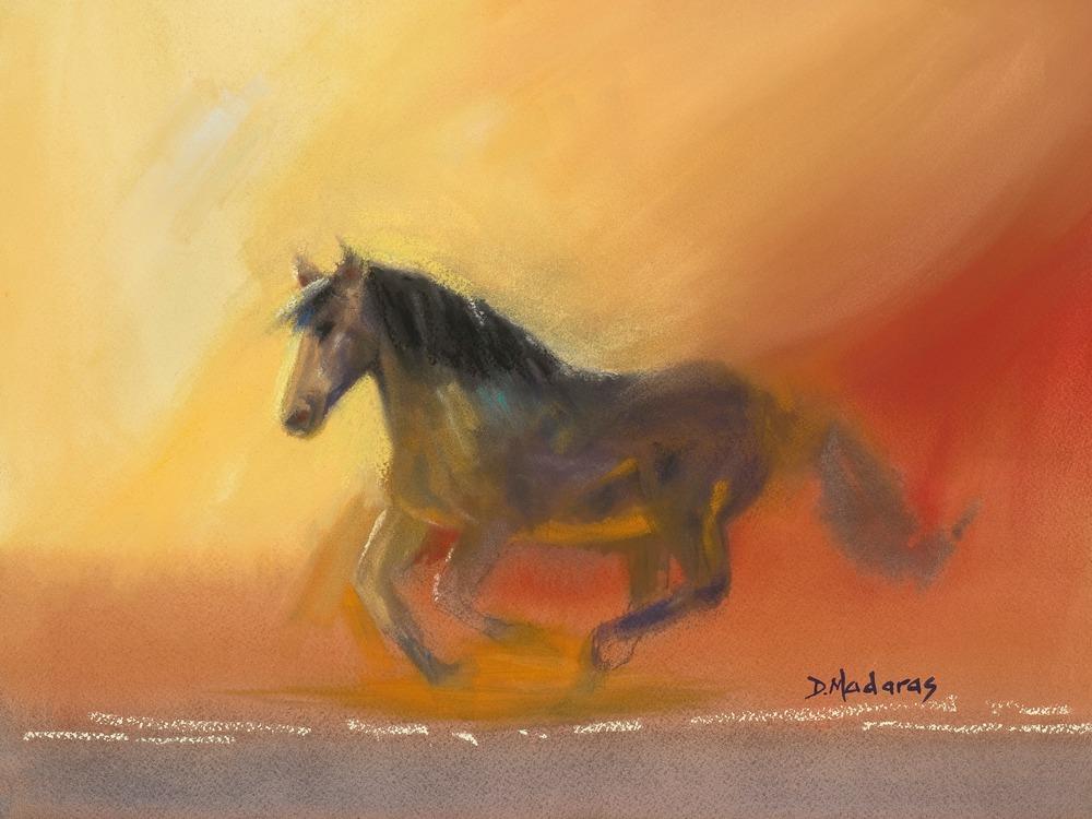 Gallop at Dawn by Diana Madaras
