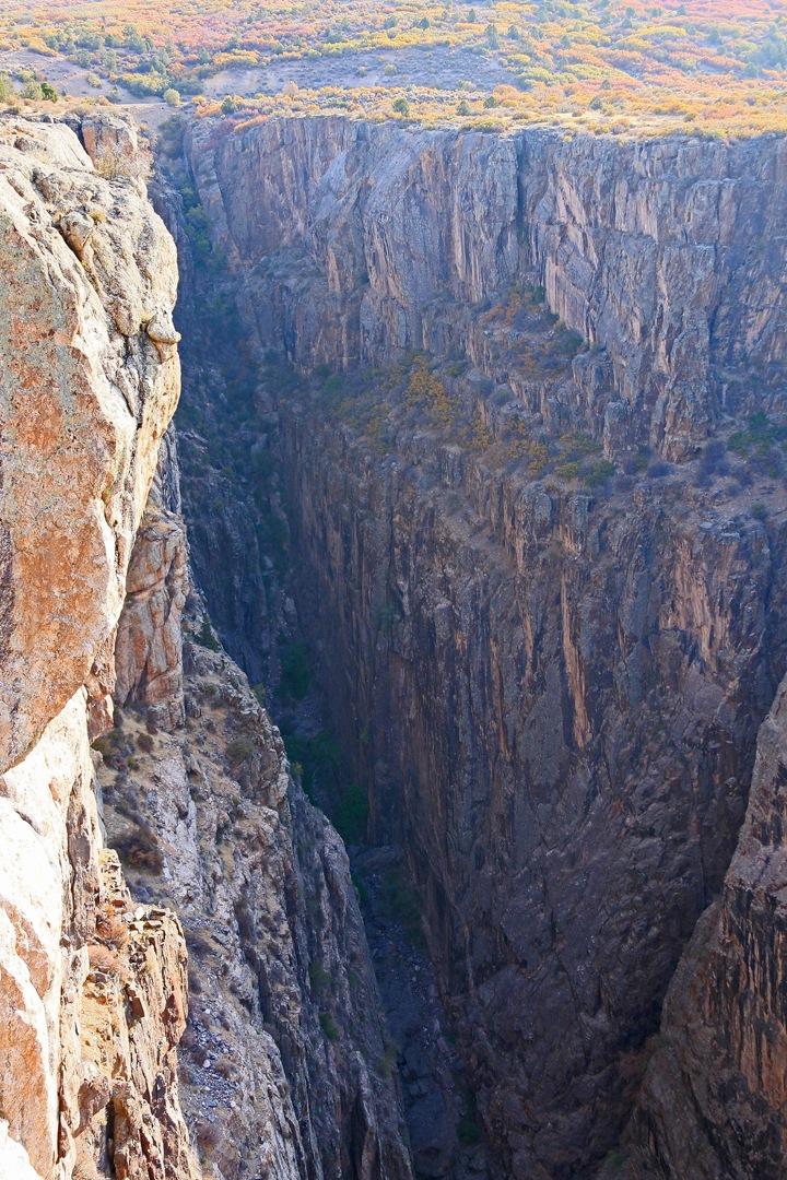 Canyon plunge